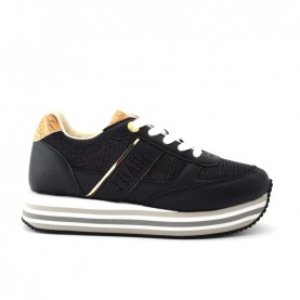 Alviero Martini 10893 black glitter sporty sneakers