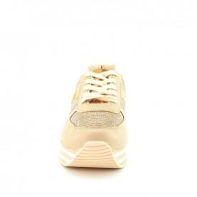 Alviero Martini 10892 platinum glitter sporty sneakers