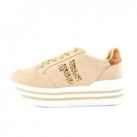 Alviero Martini P278 beige platform sneakers