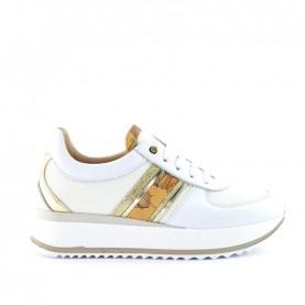 Alviero Martini N0931 white and geo sneakers