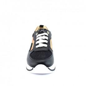 Alviero Martini N0926 black glitter sneakers