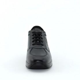 Byblos Blu 667351 man sneakers black leather