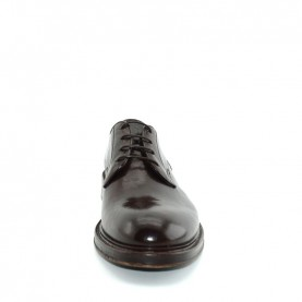 Corvari 7029 man brown leather lace ups shoes