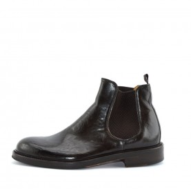 Corvari 8584 man brown leather ankle boots