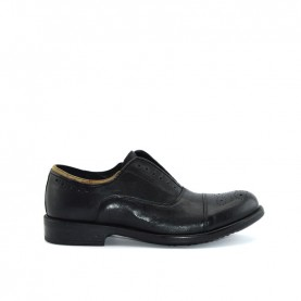 Alviero Martini A058 black leather man shoes