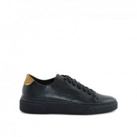 Alviero Martini A051 black leather man sneakers
