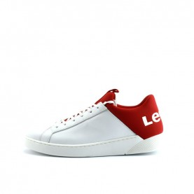 Levi's Premium Mullet man white red sneakers