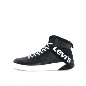 Levi's Premium Mullet man black high sneakers