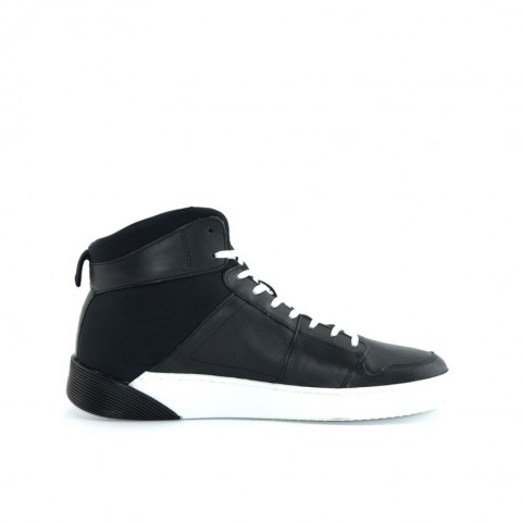 Levi's Premium Mullet man black high sneakers