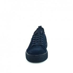 Calvin Klein Edwin man blue suede sneakers