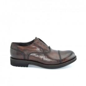 JP David 34804 man burnt brown leather lace ups shoes