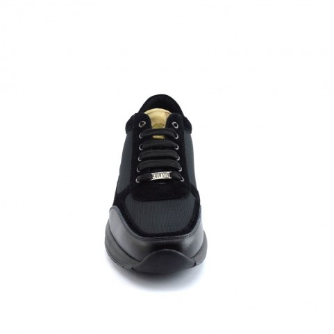 Alviero Martini Z9778 man black sneakers