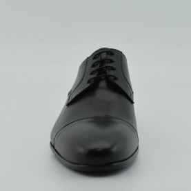 Cesare Augusto lace ups black leather 4468B made in Italy
