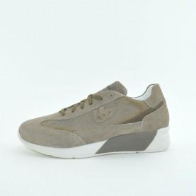 Byblos Blu 672058 taupe suede man byactive sneakers
