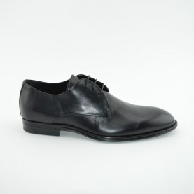 Corvari 3501 lace ups black leather