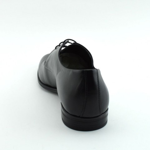 Corvari 3501 lace ups black leather