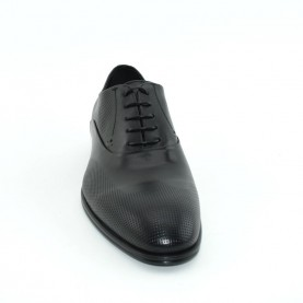 Corvari 3507 lace ups black leather