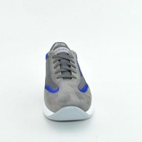 Byblos Blu 672053 grey nylon/suede man byactive sneakers