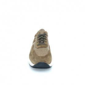 Byblos Blu 682052 grey suede and textile man sneakers