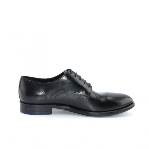 Corvari 8060 lace ups black leather
