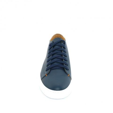 Alviero Martini P939 blue and geo beige man sneakers