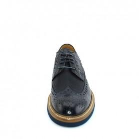 Corvari 8883 lace ups blue leather