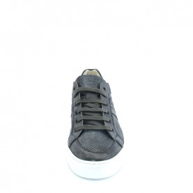 Corvari 8202 grey leather sneakers