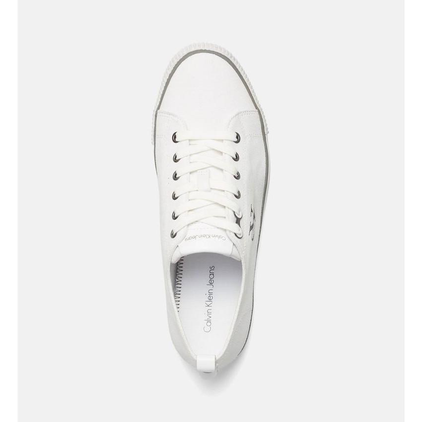 e8098970c7870f Calvin Klein Arnold sneakers bassa bianca