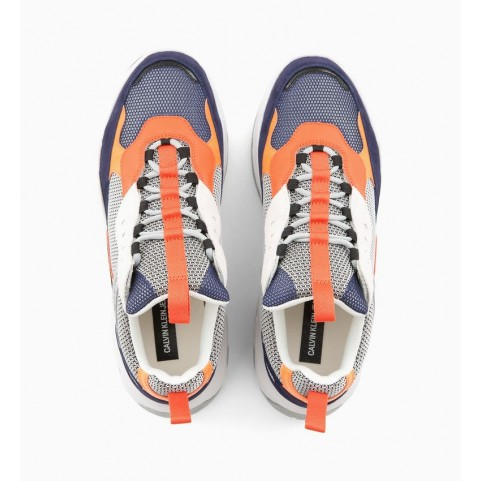 Calvin Klein Marvin blue man chunky sneakers