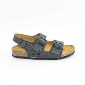 Goldstar 7410 man Smoke grey anatomical sandals
