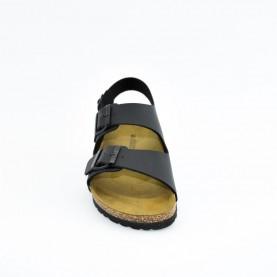 Goldstar 1810 man black anatomical sandals