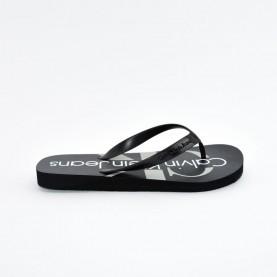 Calvin Klein CK Dash black flipflops
