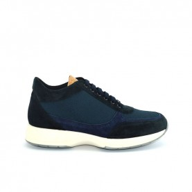 Alviero Martini Z9778 blue man sneakers