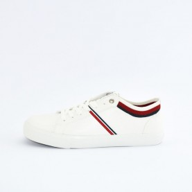 Levi's Woodward college man white sneakers