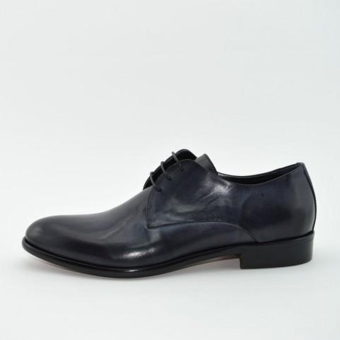 Corvari 3534C lace ups black leather