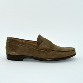 Manila 867F loafer coconut suede