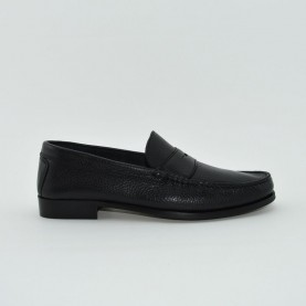 Manila 851 loafer black leather
