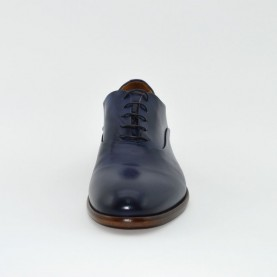 Corvari 3533 lace ups blue leather