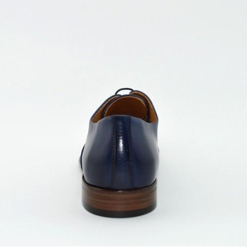 Corvari 3533 lace ups blue leather