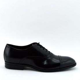 Corvari 3506 lace ups black leather