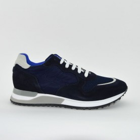Morelli E80076B man sneakers blue