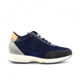 Alviero Martini Z9779 blue man sneakers