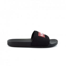 Levi's June Batwing black slippers