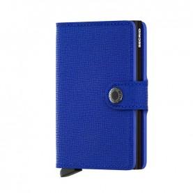 Secrid Miniwallet Crisple blue/black