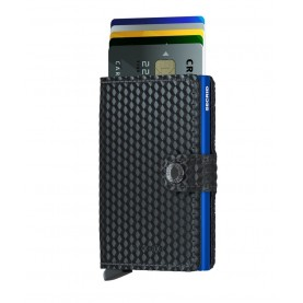 Secrid Miniwallet cubic black/blue