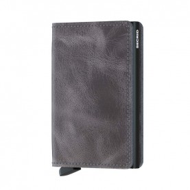 Secrid Slimwallet Vintage grey/black