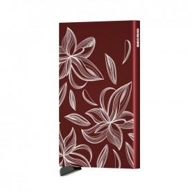 Secrid Cardprotector Laser magnolia bordeaux