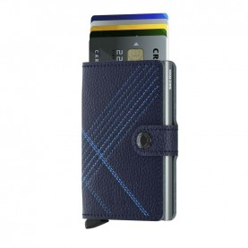 Secrid Miniwallet Stitch Linea blue