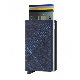 Secrid Slimwallet Stitch Linea blue