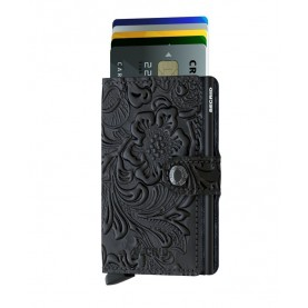 Secrid Miniwallet Ornament black